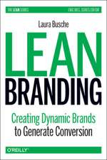 Lean Branding (paperback edition)