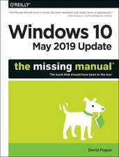 Windows 10 May 2019 Update – The Missing Manual