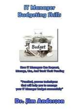 It Manager Budgeting Skills