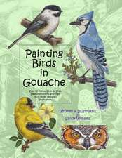 Painting Birds in Gouache