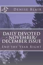 Daily Devoted - November/December Issue