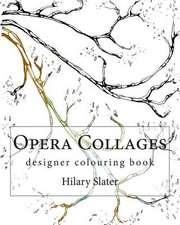 Opera Collages Designer Colouring Book