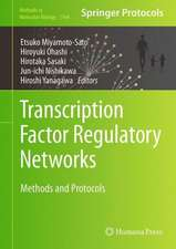 Transcription Factor Regulatory Networks: Methods and Protocols