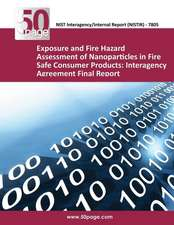 Exposure and Fire Hazard Assessment of Nanoparticles in Fire Safe Consumer Products