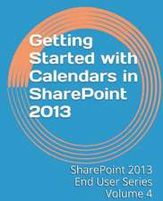 Getting Started with Calendars in Sharepoint 2013