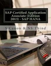 SAP Certified Application Associate (Edition 2013) - SAP Hana