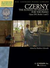 Czerny - School of Velocity, Op. 299: Schirmer Performance Editions Book Only