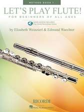 Let's Play Flute! - Method Book 1:  Book with Online Audio