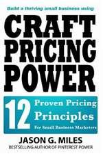 Craft Pricing Power