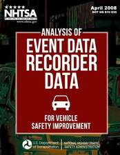 Analysis of Event Data Recorder Data for Vehicle Safety Improvement