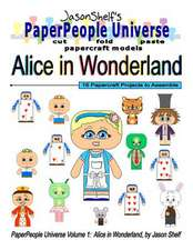 Jason Shelf's Paperpeople Universe