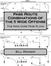 Pass Route Combinations of the 5 Wide Offense
