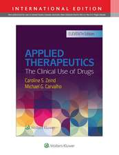 Applied Therapeutics ediția 11: The Clinical Use of Drugs