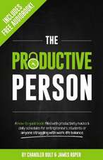 The Productive Person