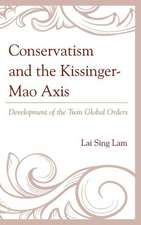 Conservatism and the Kissinger Mao Axis