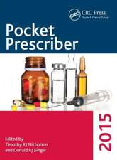 Pocket Prescriber 2015:  Contributions to Public Administration & Management