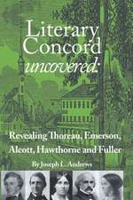Literary Concord Uncovered