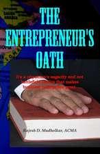 The Entrepreneur's Oath