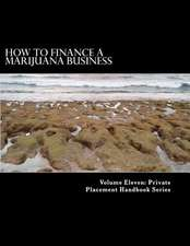 How to Finance a Marijuana Business