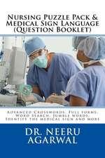 Nursing Puzzle Pack & Medical Sign Language (Question Booklet)