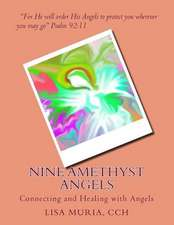 Nine Amethyst Angels