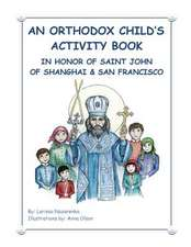 An Orthodox Child's Activity Book