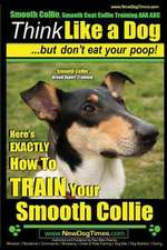 Smooth Collie, Smooth Coat Collie Training AAA Akc - Think Like a Dog But Don't Eat Your Poop! - Smooth Collie Breed Expert Training -
