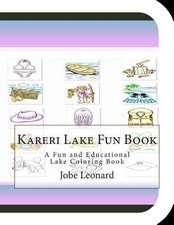 Kareri Lake Fun Book
