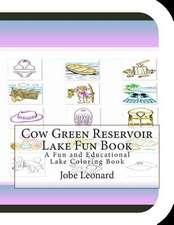 Cow Green Reservoir Lake Fun Book