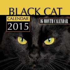 Black Cats Calendar 2015