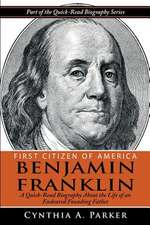 First Citizen of America - Benjamin Franklin
