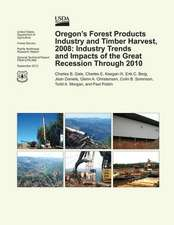 Oregon's Forest Products Industry and Timber Harvest, 2008
