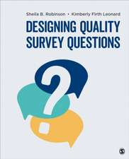Designing Quality Survey Questions