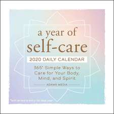 A Year of Self-Care 2020 Daily Calendar