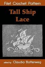 Tall Ship Lace Filet Crochet Pattern