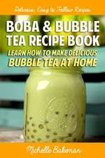 Boba & Bubble Tea Recipe Book