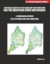 Historical Analysis of Wetlands and Their Functions for the Nanticoke River Watershed