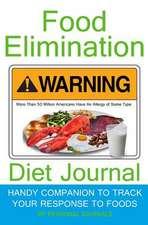 Food Elimination Diet Journal