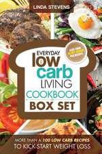 Low Carb Living Cookbook Box Set