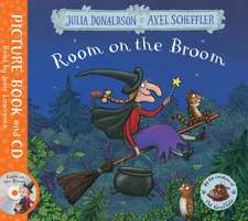 Room on the Broom. Book and CD