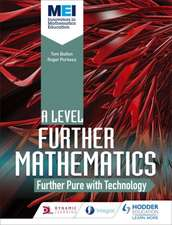 MEI Further Maths: Further Pure Maths with Technology