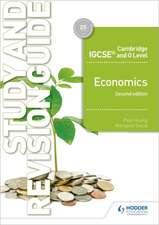 Camb Igcse & O Level Economics Study & Revision Guide 2nd Edition