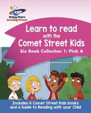 Reading Planet: Learn to read with the Comet Street Kids Six Book Collection 1: Pink A