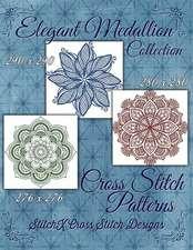 Elegant Medallion Collection - Cross Stitch Patterns