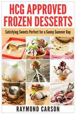 Hcg Approved Frozen Desserts