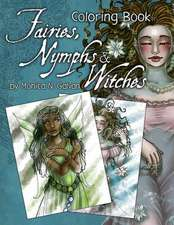 Fairies, Nymphs & Witches Coloring Book