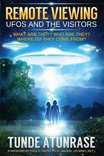 Remote Viewing UFOs and the Visitors