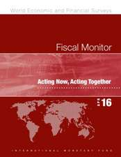 Imf:  Fiscal Monitor, April 2016