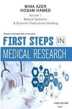 First Steps in Medical Research
