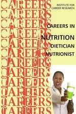 Careers in Nutrition - Dietician, Nutritionist